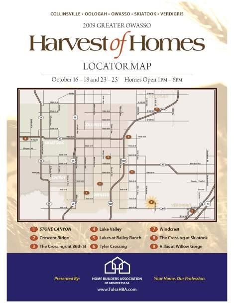 harvestmap2009